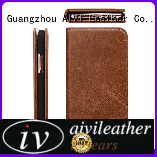 AIVI super leather iphone case and wallet supply for ipone 6/6plus