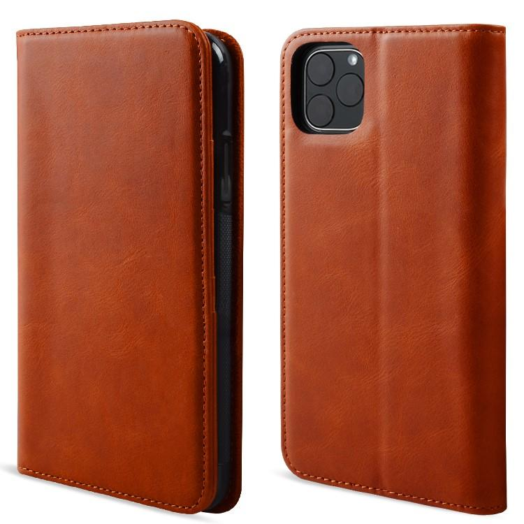 Premium Leather iPhone Case Flip Cover Case For iPhone 11-1