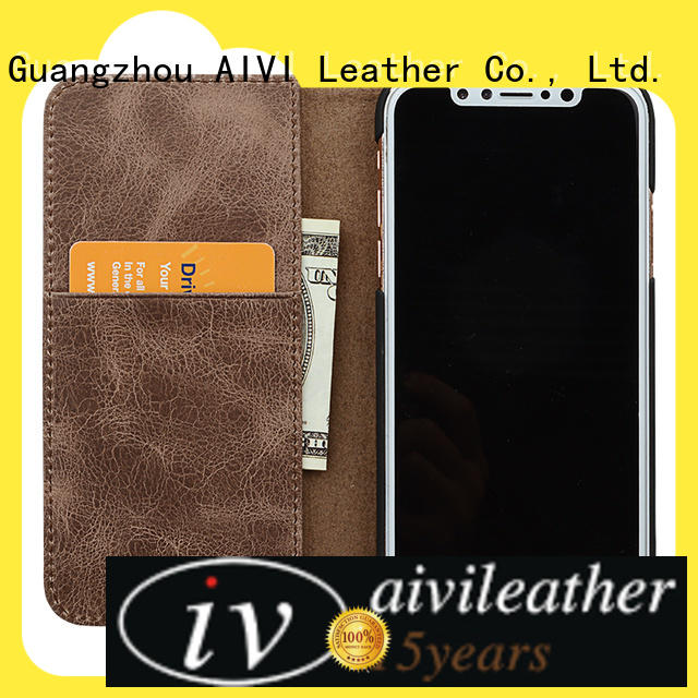 AIVI fine iphone leather flip case supply for ipone 6/6plus
