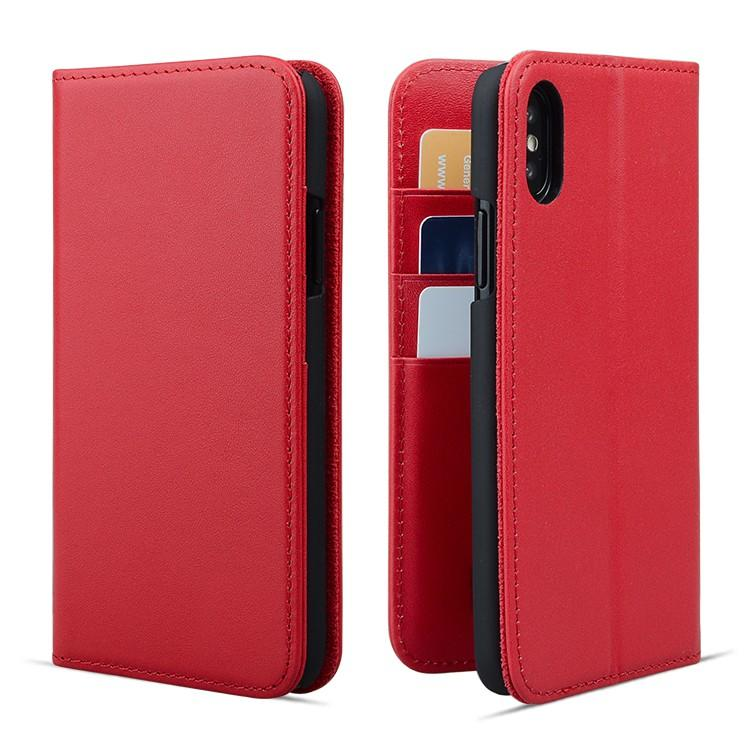 AIVI real leather iphone wallet case protector for iphone XR-1