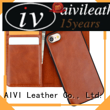 AIVI credit leather iphone wallet accessories for iphone XS