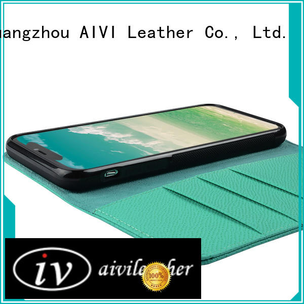 AIVI iphone leather card wallet for sale for iphone XS