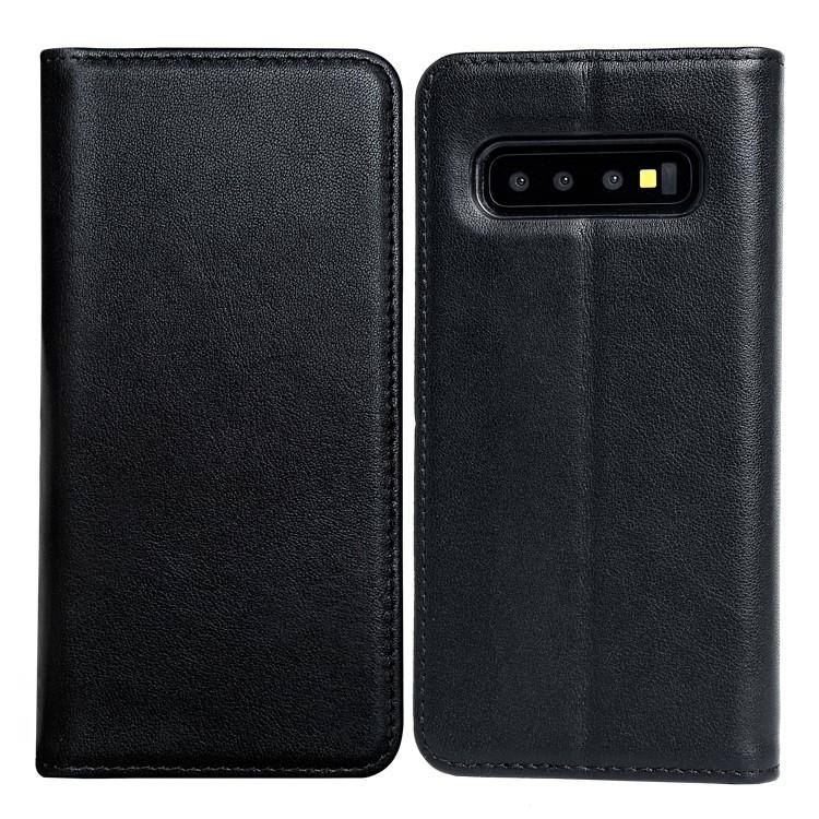 Luxury Genuine Leather Protective Case For Samsung S10-1