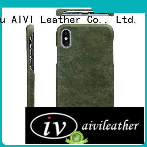 AIVI cool leather iphone wallet online for iphone X
