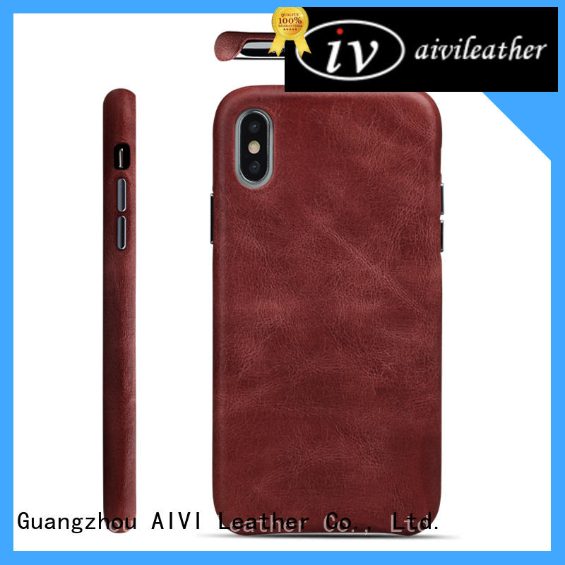 AIVI waterproof iphone leather cover for iphone 7/7 plus