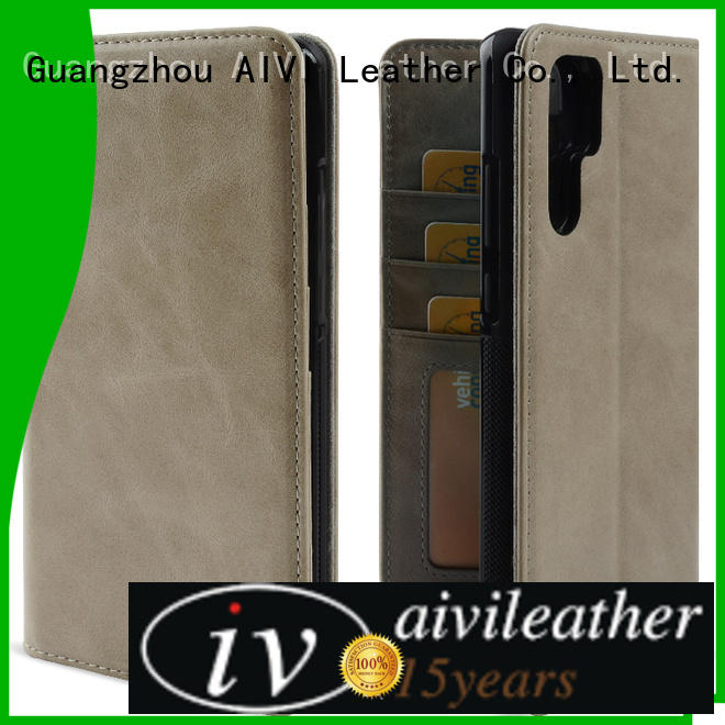 AIVI leather phone cases for sale for HUAWEI P30