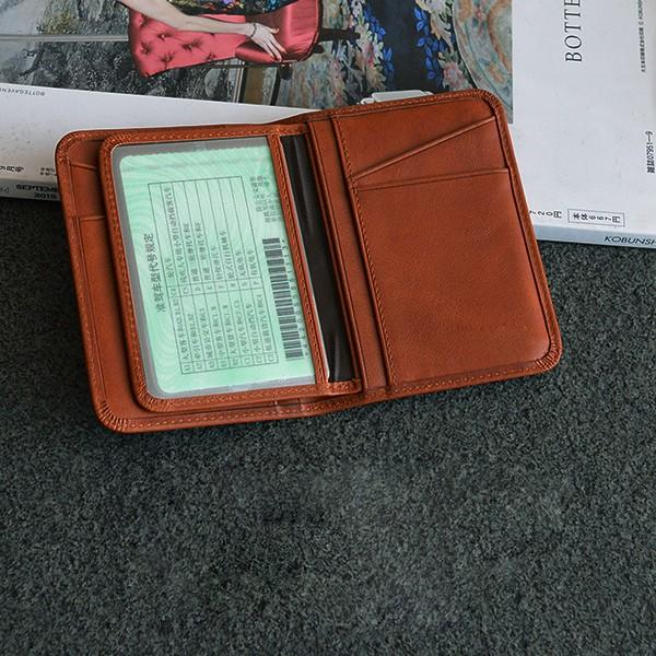 AIVI customized leather card case wallet for sale for ipone 6/6plus-3
