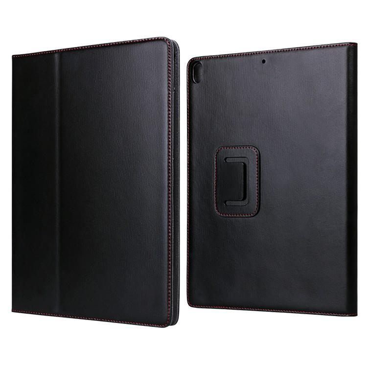 fashion real leather ipad case cow online for IPad-2
