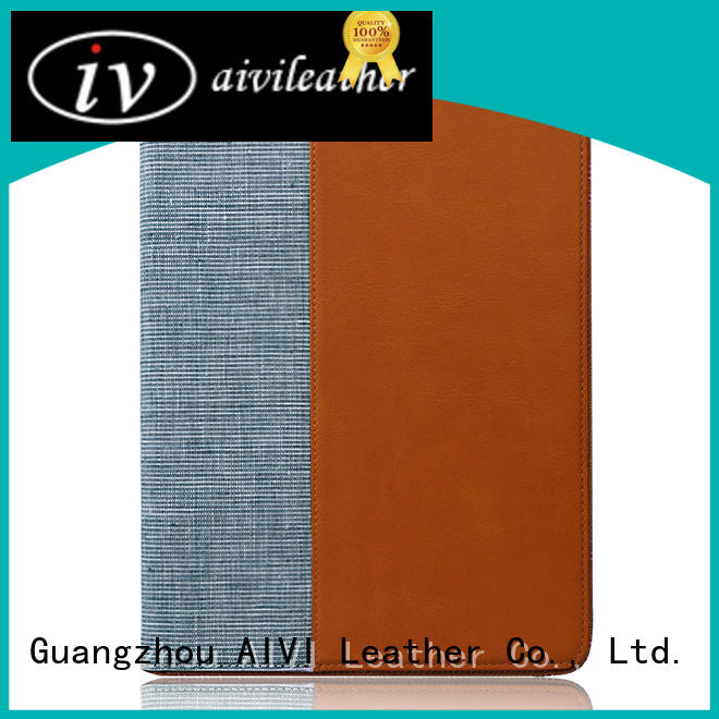 AIVI customized best leather ipad case manufacturer for IPad