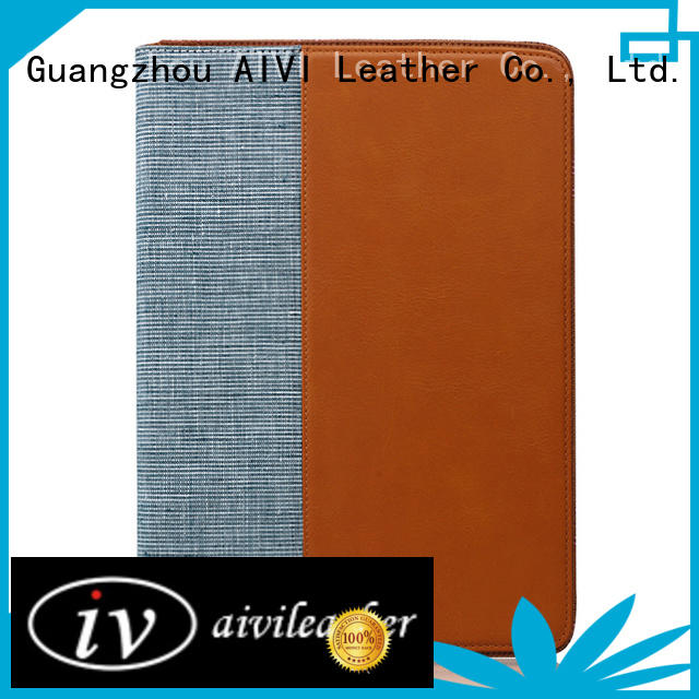 AIVI handcraft personalized ipad case leather cases for laptop